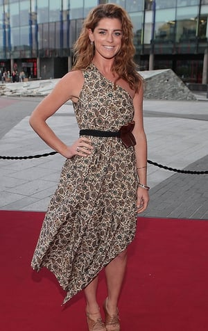 Love/Hate's Trish played by Aoibhinn McGinnity got glammed up for the night