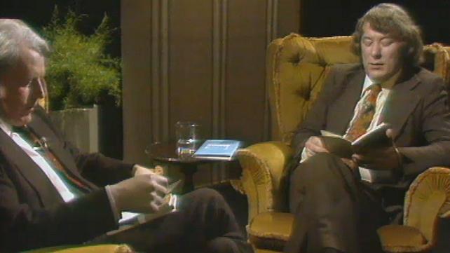 Aindreas Ó Gallchóir and Seamus Heaney