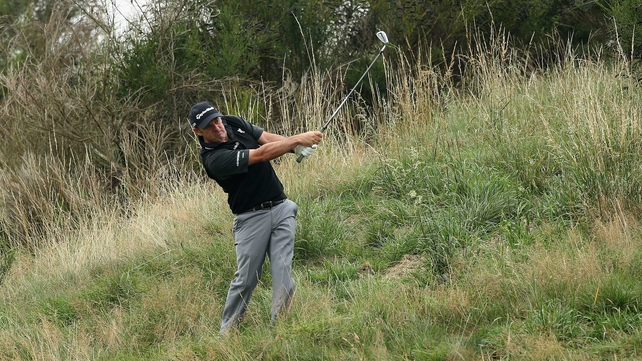 Paul McGinley described the rough at Gleneagles as 'good rough, but not unplayable'