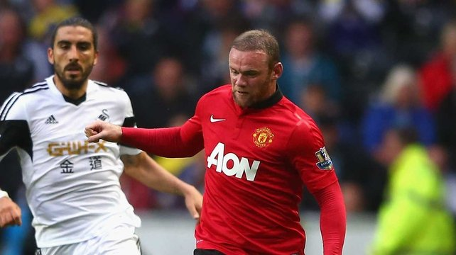 Wayne Rooney suffered the injury in training