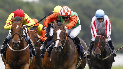 Jwala's (green/orange) only other win this year also came at York in July