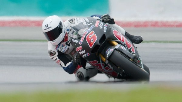 Stefan Bradl on his LCR Honda