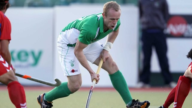 Eugene Magee had a goal cancelled out for the Irish