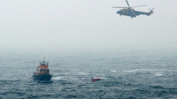 The RNLI said weather conditions in the area was not
