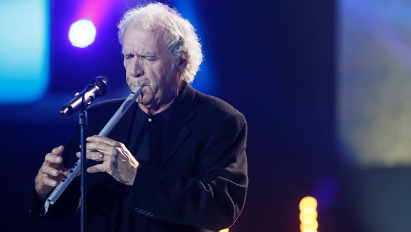 The Hit winner Finbar Furey who sang Gerry Fleming's The Last Great Love Song