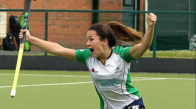 Anna O'Flanagan gave Ireland the lead but they were unable to built on the lead