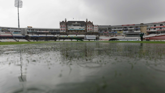 Rain was present at the scheduled start time of 11am and did not let up for any significant period