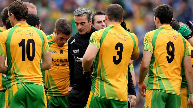Donegal are on course to be promoted back to the top flight