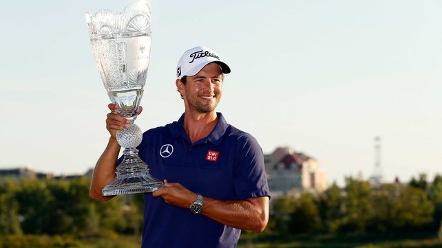 Adam Scott held his nerve at The Barclays