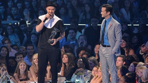 Justin Timberlake receives Michael Jackon Vanguard Award