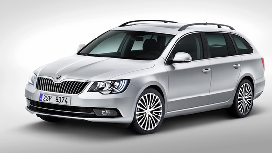With Superb the historic Czech carmaker Škoda is clearly getting better at exterior styling.