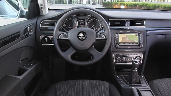 Volkswagen switchgear and trim can be found everywhere and that is the beauty of Škoda, as you get, in essence, a VW for a lot less money.