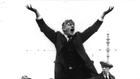 Jim Larkin, 1923 © RTÉ Archives 0510/053