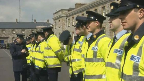 Gardaí Come Down With the 'Blue Flu'