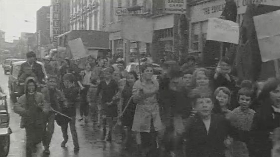 Corporation Strike Protest March, 1968