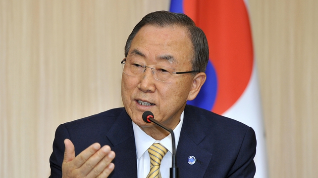 UN chief Ban Ki-moon said the UN team must be able to conduct a thorough and unimpeded investigation