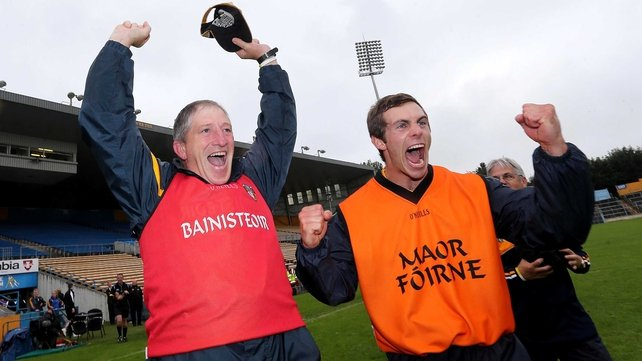 Kevin Ryan and Neil McManus are hoping to mastermind a shock victory over Clare