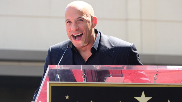 Vin Diesel gets the 2,504th Hollywood Walk of Fame star