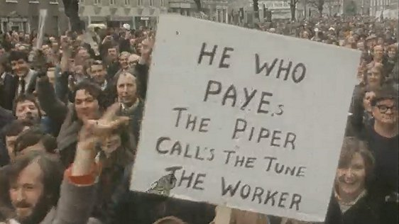 PAYE protest march, 1979