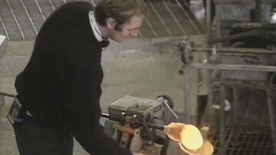 Waterford Crystal Worker, 1990