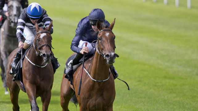 Tapestry has won two out of two at the Curragh this year