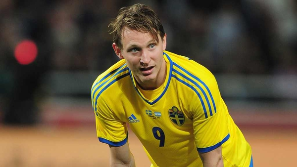 Kim Kallstrom picked up an injury in his first training session with Arsenal