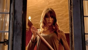 Careful with that axe Erin . . . it's very much bloody hell in You're Next.
