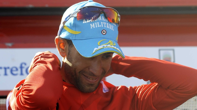 Vincenzo Nibali back in red as he targets a second win in the Vuelta