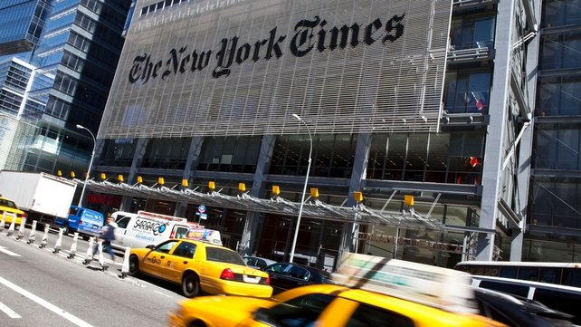 The New York Times, Twitter and the Huffington Post lost control of some of their websites yesterday