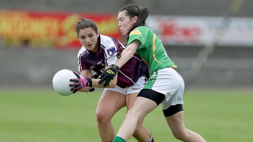 Lorna Joyce will hope to help Galway into the final