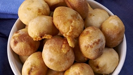 Cheesy Chorizo Dough Balls | Rachel Allen