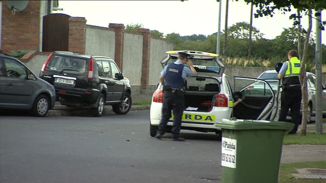 Gardaí are investigating the incident in the Cian Lea housing estate