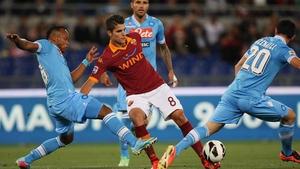 Erik Lamela is set to move to Tottenham Hotspur