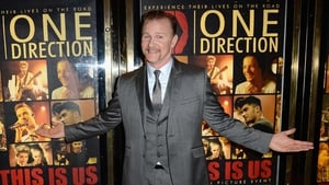 Morgan Spurlock at the One Direction: This Is Us premiere