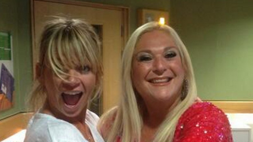 Zoe Ball and Vanessa Feltz