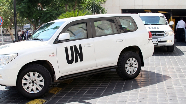 The UN team is expected to conclude its investigations tomorrow