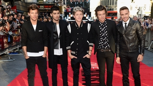 One Direction at this week's This is Us premiere