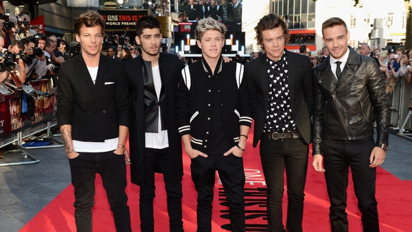 The film gives a fans a look into the crazy lives of 1D