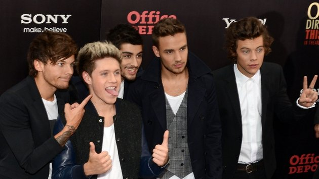 Spurlock tries to hammer home the idea that 1D are just normal lads