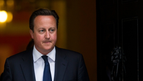 David Cameron said he was convinced the Assad regime was behind the alleged attack