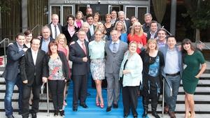 The RTÉ Radio 1 crew