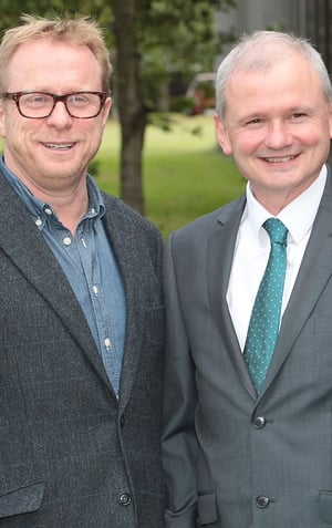 Dan Healy - Head of RTÉ 2fm and Jim Jennings - Acting MD of RTÉ Radio