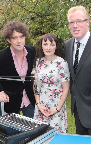 Cathal Murray, Sinead Gleeson and Damien O'Reilly