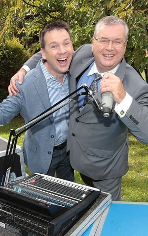 Derek Mooney and Joe Duffy