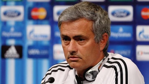 Jose Mourinho was unimpressed by questions from the media