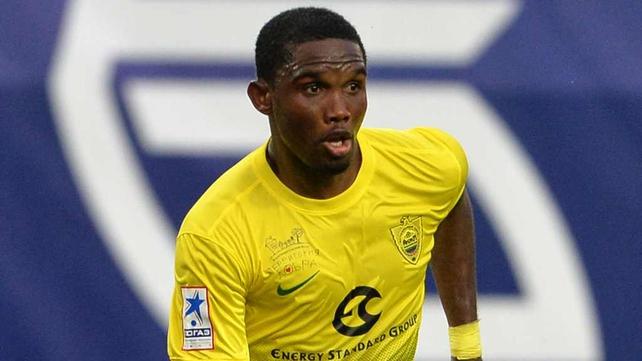 Samuel Eto'o has left Anzhi Makhachkala for Premier League Chelsea