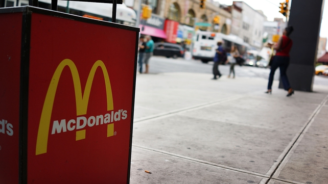 McDonald's has over 2,000 outlets in China and more than 3,000 in Japan