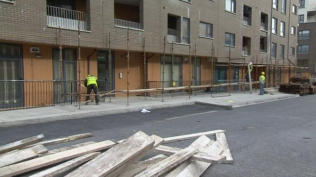 Priory Hall residents were evacuated from their homes in October 2011