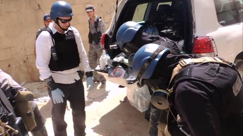 UN inspectors found evidence of chemical weapons use in Syria