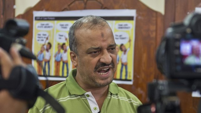 Mohamed Beltagi of the Muslim Brotherhood was arrested ahead of planned protests